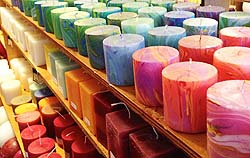 marbled candles